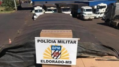 Photo of Eldorado – PM apreende carreta com 45 mil pacotes de cigarro na MS-295
